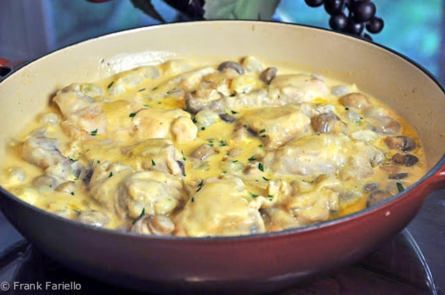 de poulet à l'ancienne (Julia Child's Old-Fashioned Chicken Fricassee...