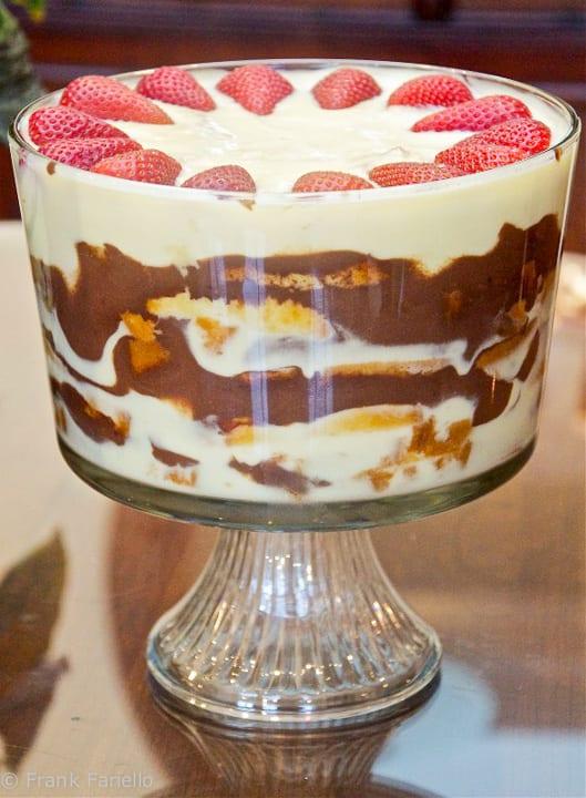 Zuppa inglese (Italian Trifle)   Memorie di Angelina