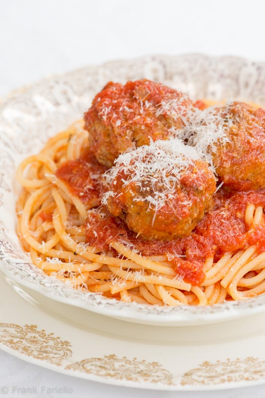 Columbus Day Special: Spaghetti and Meatballs | Memorie di Angelina