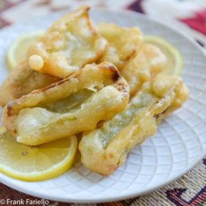 Cardi fritti (Batter-Fried Cardoons)